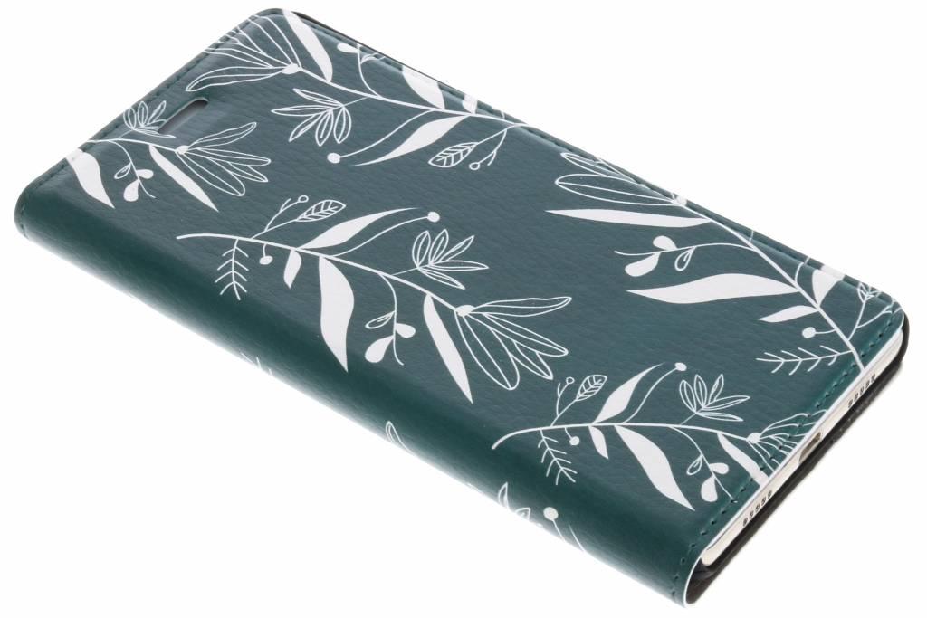 Botanic Bloem Design Booklet voor de Huawei P8 Lite
