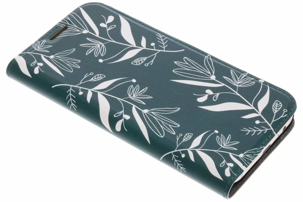Botanic Bloem Design Booklet voor de Samsung Galaxy A5 (2017)