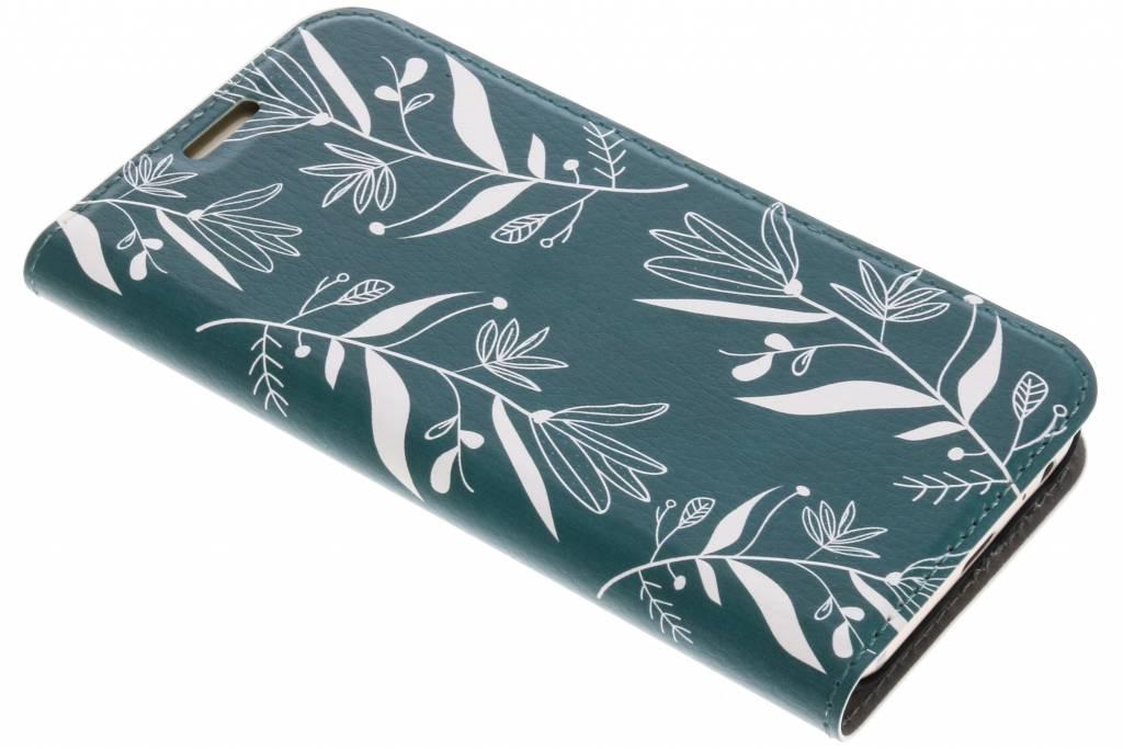 Botanic Bloem Design Booklet voor de Samsung Galaxy A3 (2017)