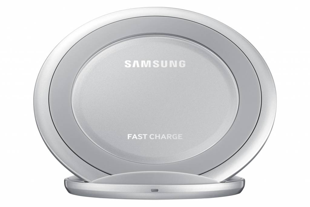 Samsung Wireless Charger Stand Silver