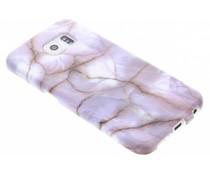 Marmer siliconen hoesje Samsung Galaxy S6