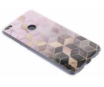 Marmer siliconen hoesje Huawei P8 Lite (2017)