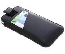 Valenta Zwart Pocket Premium iPhone Xs / X