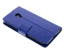 Blauw TPU Bookcase Alcatel U5 HD