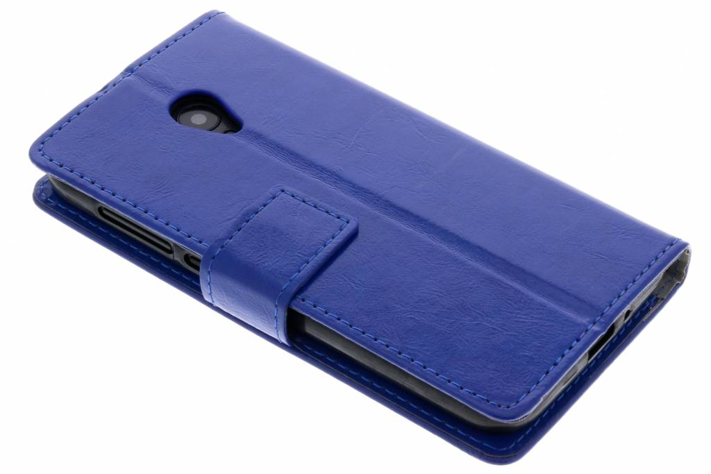 Blauwe TPU Bookcase voor de Alcatel U5 HD