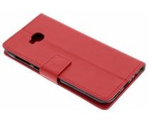 Rood TPU Bookcase Asus ZenFone 4 Selfie Pro