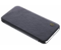 Nillkin Zwart Qin Leather slim booktype iPhone Xs / X