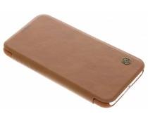 Nillkin Bruin Qin Leather slim booktype iPhone Xs / X