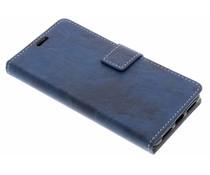 Blauw Vintage look booktype Asus ZenFone 4 Max