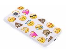 Emoji design TPU hoesje Samsung Galaxy S4