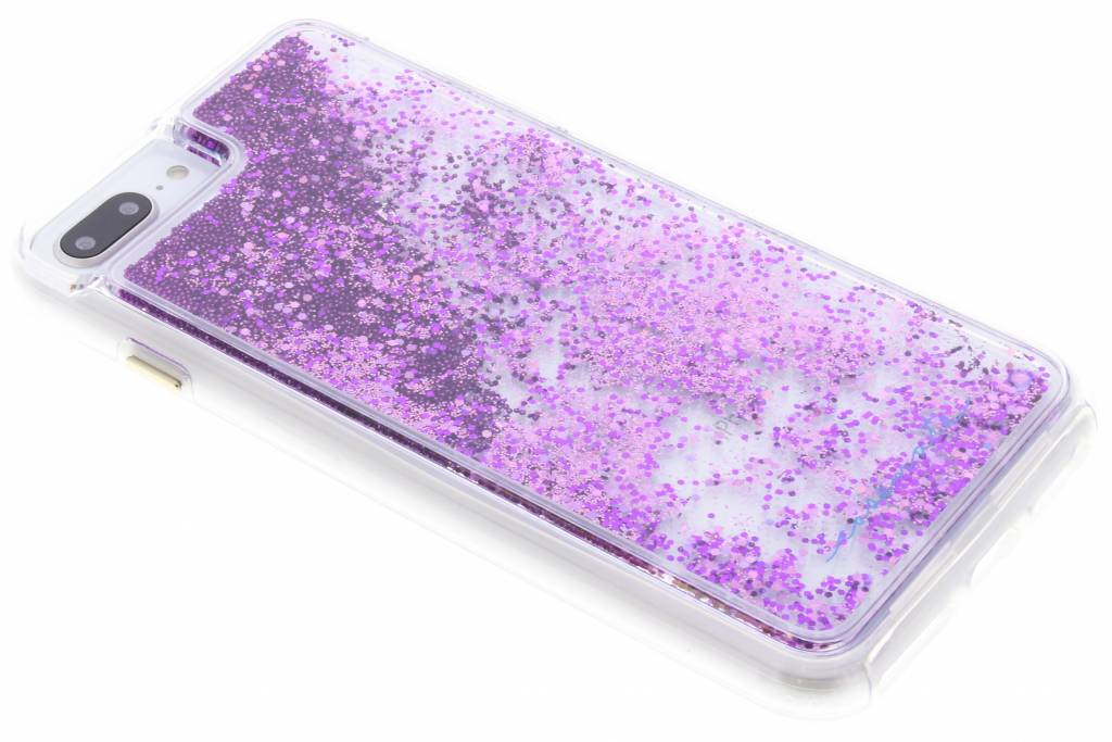 Paarse Naked Tough Waterfall Case voor de iPhone 8 Plus / 7 Plus / 6(s) Plus