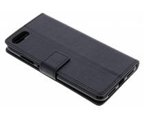 Zwart TPU Bookcase Asus ZenFone 4 Max / 4 Max Plus