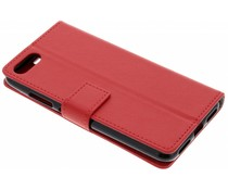 Rood TPU Bookcase Asus ZenFone 4 Max / 4 Max Plus
