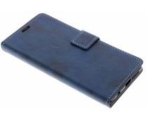 Donkerblauw Vintage look booktype Asus ZenFone 4