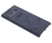 Samsung Donkergrijs Alcantara Cover Galaxy Note 8