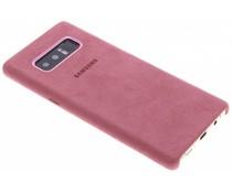 Samsung Roze Alcantara Cover Galaxy Note 8