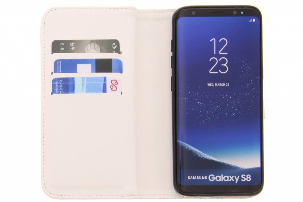 Vivre La Conception Vie Portefeuille Tpu Pour Samsung Galaxy S5 (plus) / Neo hR74K