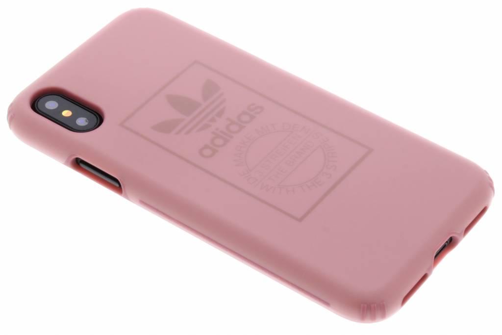 adidas Originals Roze TPU Hard Cover voor de iPhone Xs / X