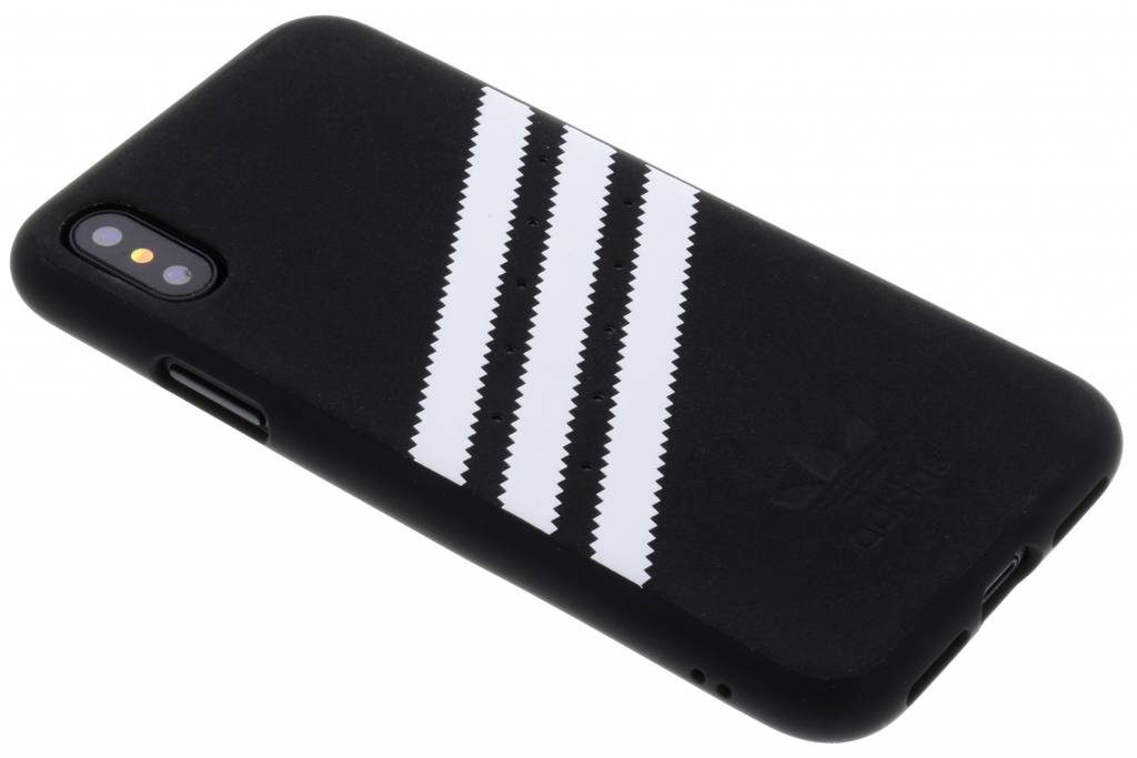 adidas Originals Zwarte Basics Moulded Case voor de iPhone X