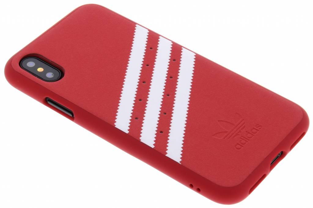 adidas Originals Scarlet OR Moulded Suede Case voor de iPhone X