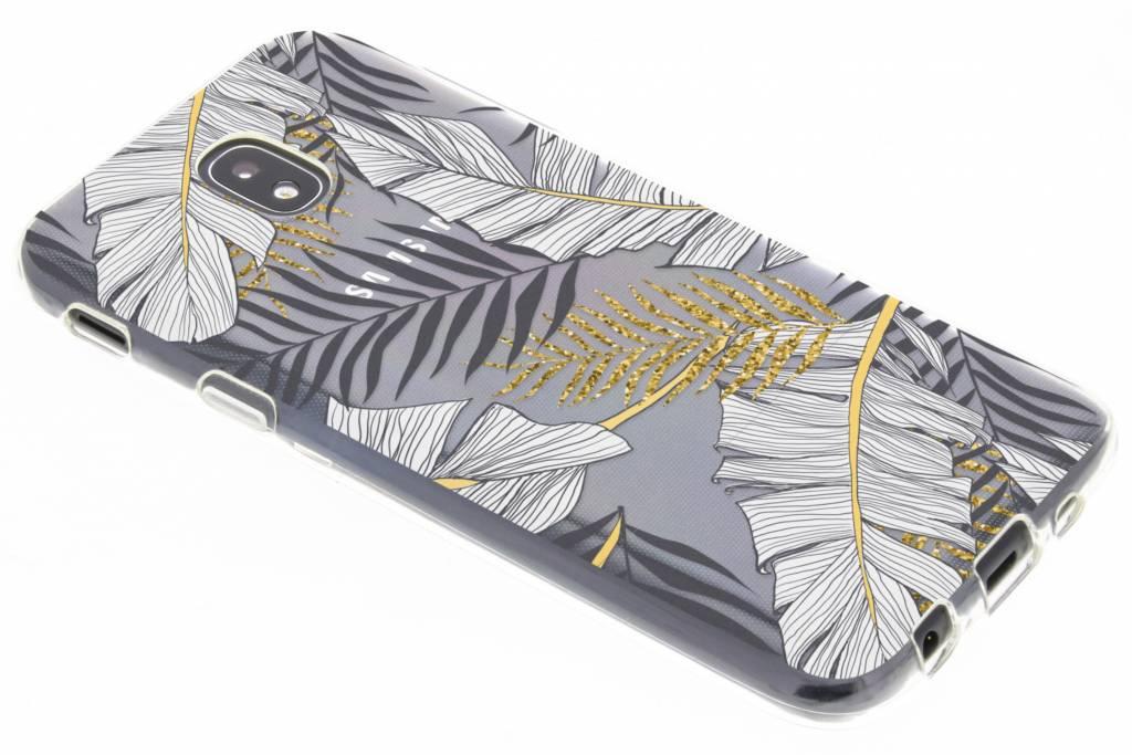 Botanic design siliconen hoesje voor de Samsung Galaxy J5 (2017)