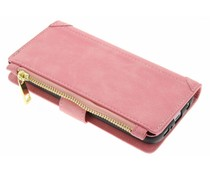 Roze luxe portemonnee hoes Samsung Galaxy Note 8