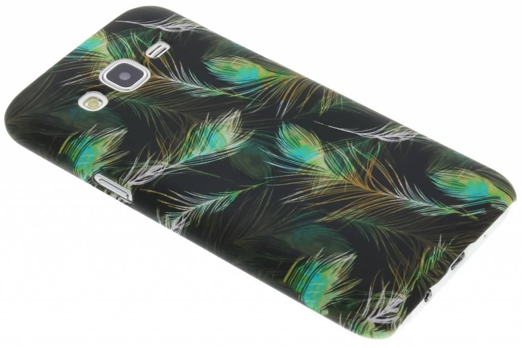 Feathers design hardcase hoesje voor de Samsung Galaxy J5