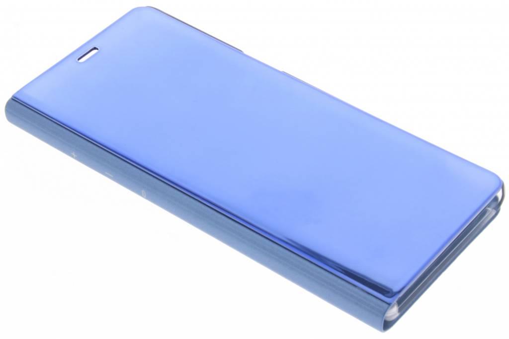 Blauwe Metallic Booktype voor de Samsung Galaxy Note 8