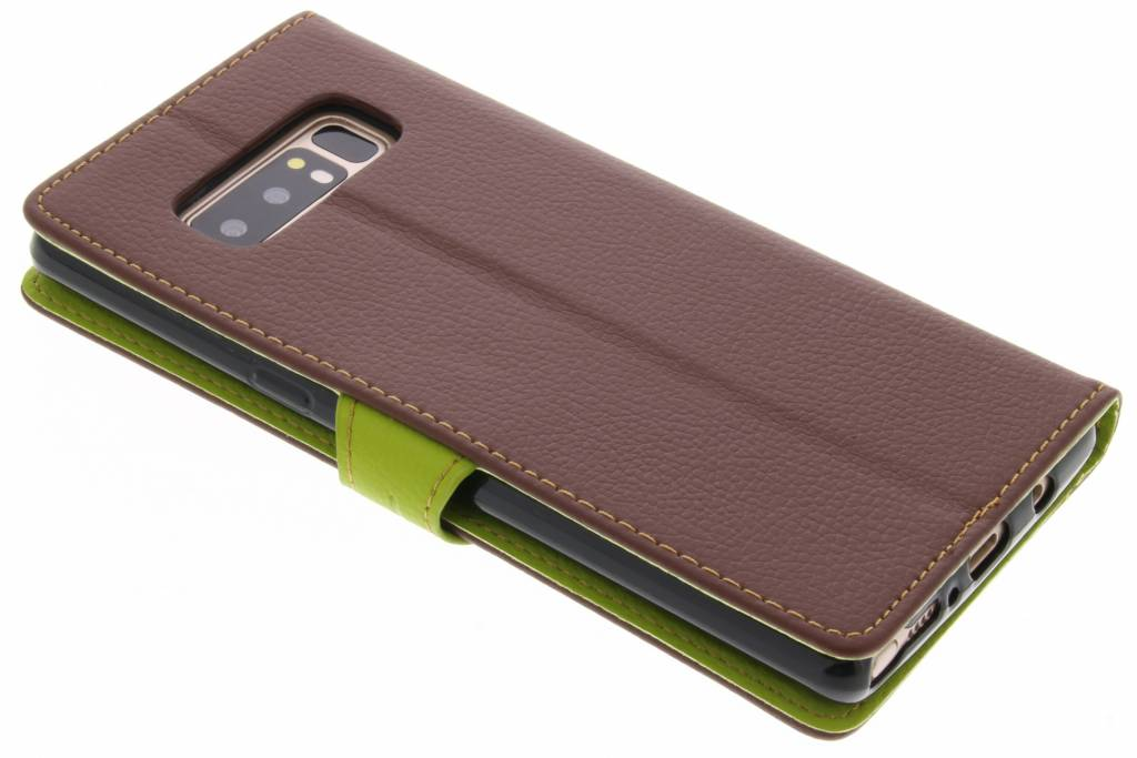 Conception Feuille Brune Cas Booktype Tpu Pour Huawei Compagnon 9 ZXbrUWYpEL