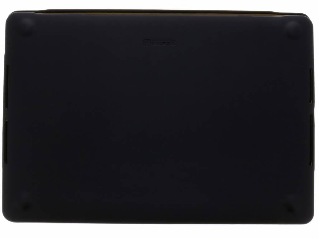 Étui De Protection En Cuir Noir Pour Macbook Pro 15,4 Pouces