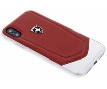Ferrari Heritage Aluminium V Stripe Hard Case iPhone X