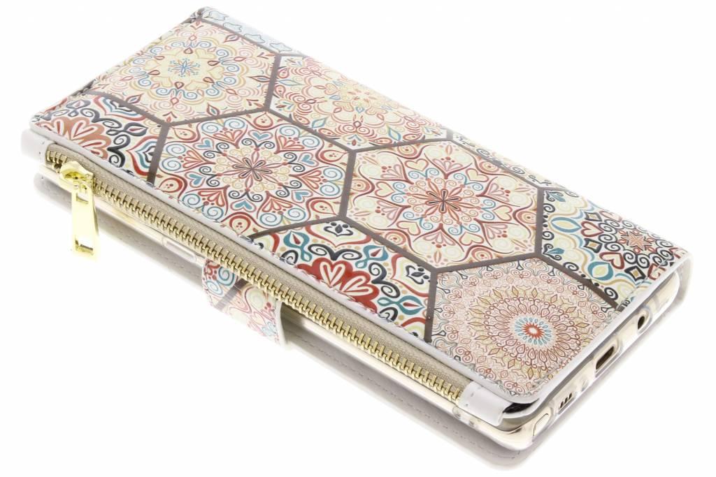 Festival design luxe portemonnee hoes voor de Samsung Galaxy Note 8