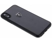 Ferrari Zwart Heritage Carbon Hard Case iPhone X