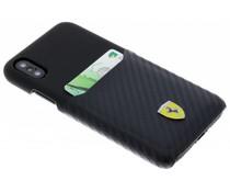 Ferrari Carbon Card Hardcase iPhone X