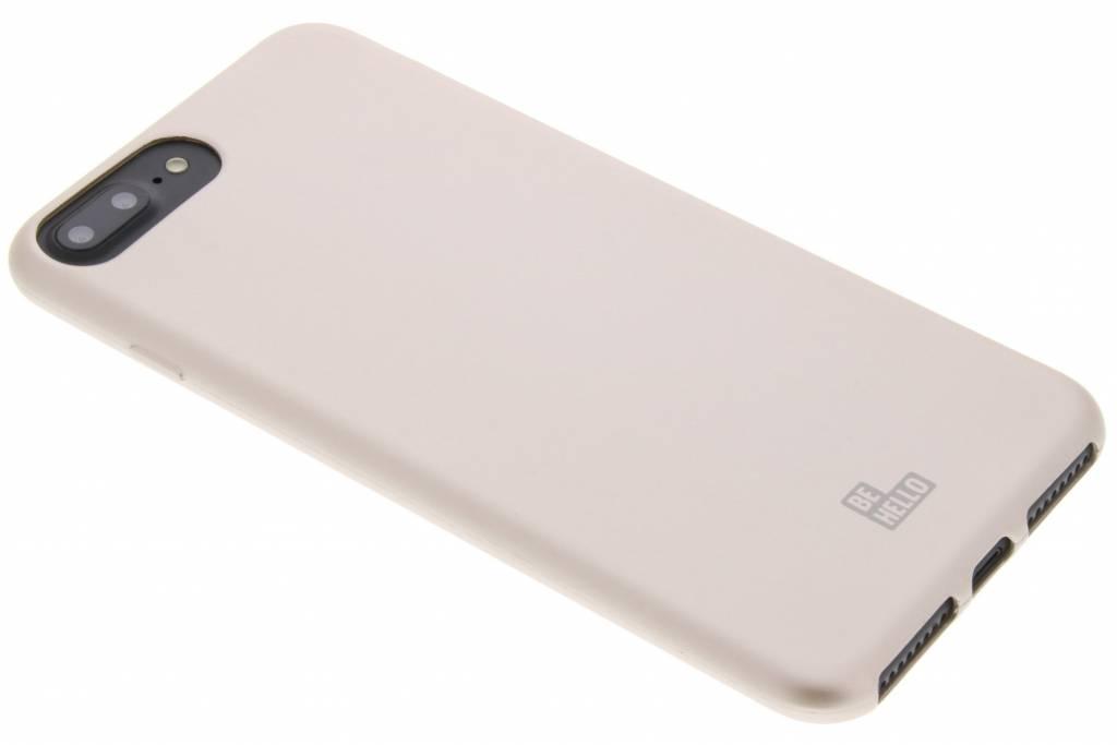 Gouden Soft Touch Gel Case voor de iPhone 8 Plus / 7 Plus / 6(s) Plus