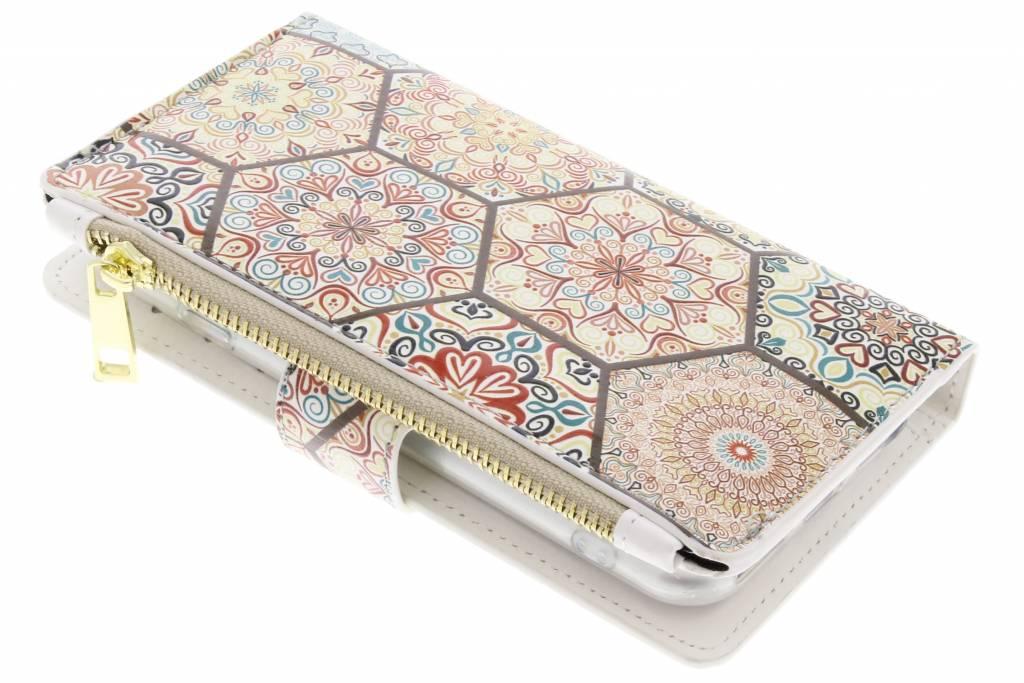 Festival design luxe portemonnee hoes voor de iPhone 8 / 7