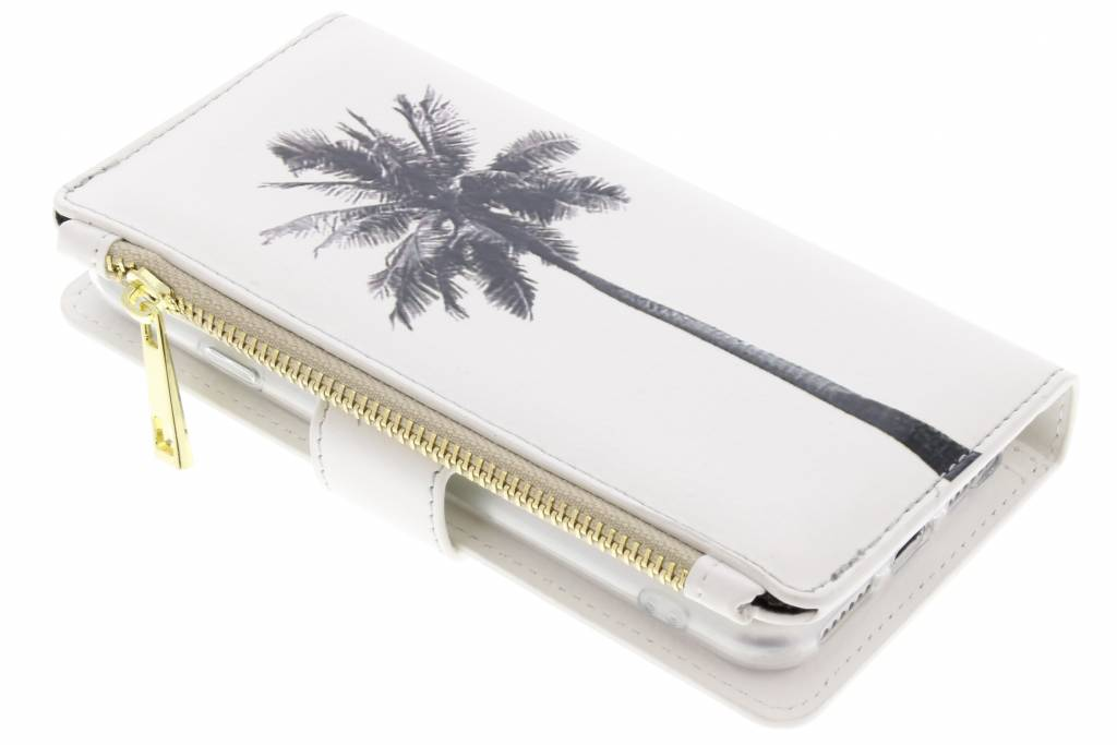 Palmtree design luxe portemonnee hoes voor de iPhone 8 / 7