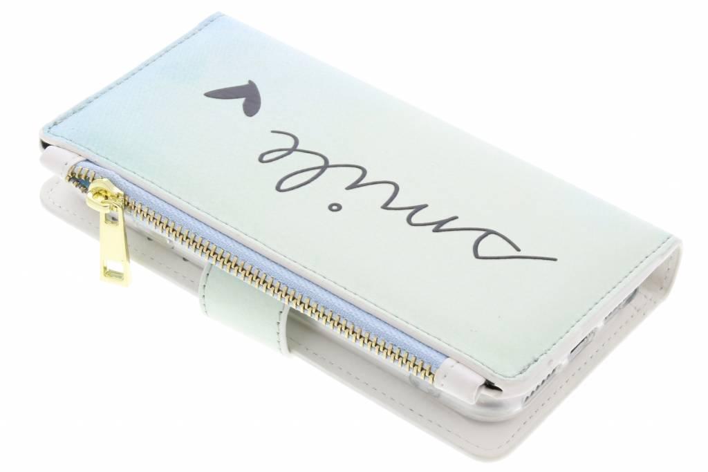 Smile design luxe portemonnee hoes voor de iPhone 8 / 7