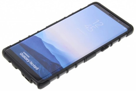 Cas Hybride Robuste Noir Pour Samsung Galaxy Note 8 sDVob3
