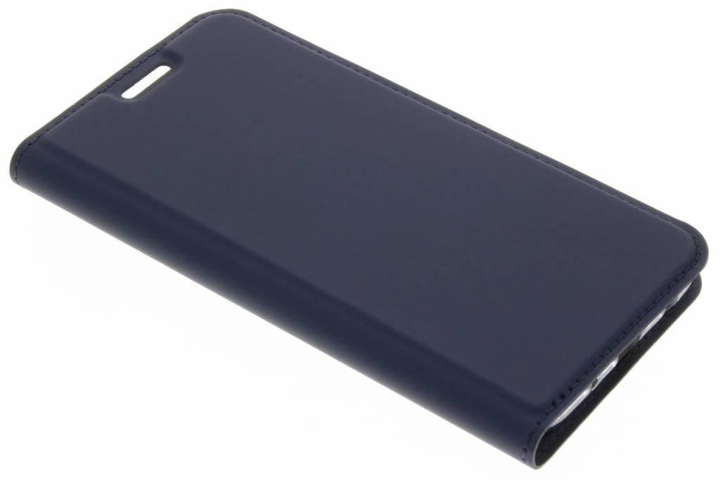 Porte-monnaie Bleu Livret Tpu Pour Samsung Galaxy A8 (2018) XbvGI