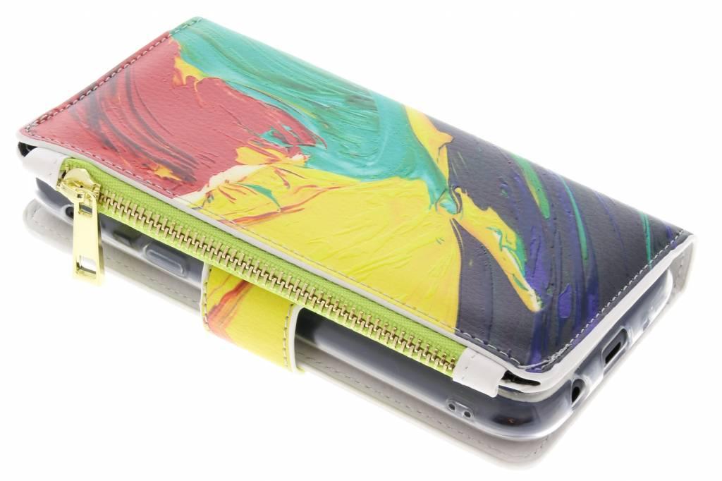 Plumes Cas De Conception De Porte-monnaie De Luxe Pour Samsung Galaxy A3 (2017) CLazeKhsX