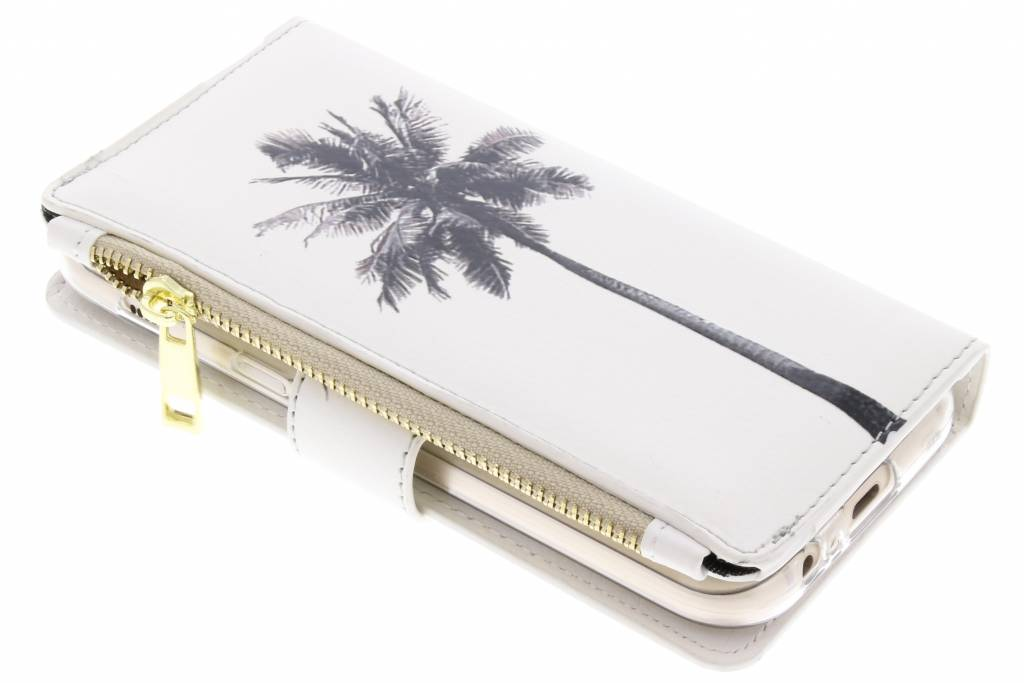 Palmtree design luxe portemonnee hoes voor de Samsung Galaxy A5 (2017)
