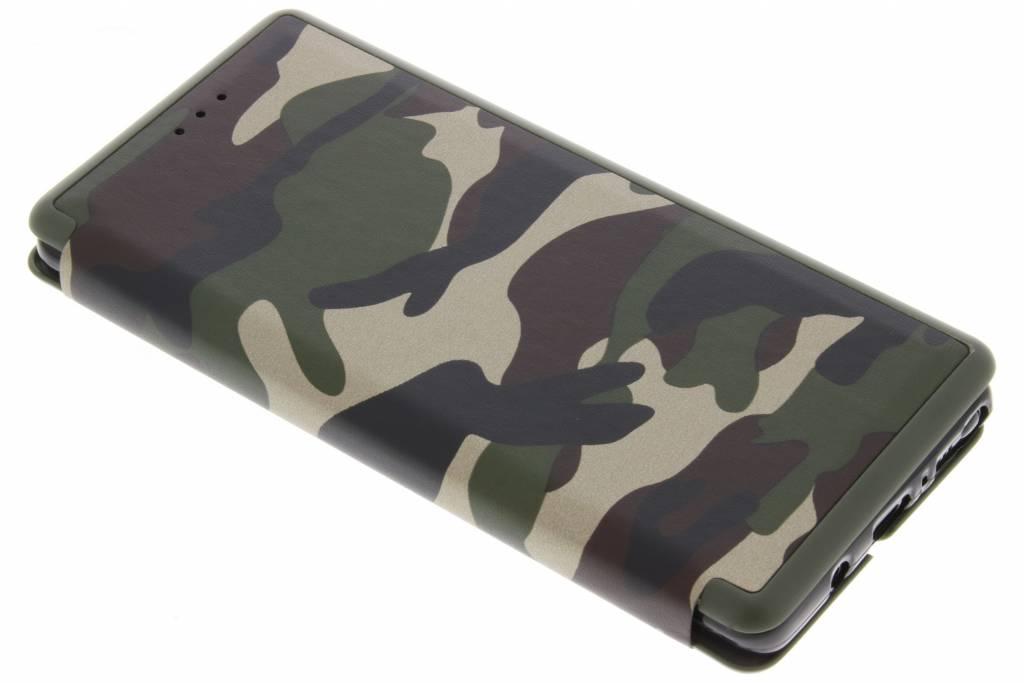 Groene Army Slim Folio Case voor de Samsung Galaxy Note 8