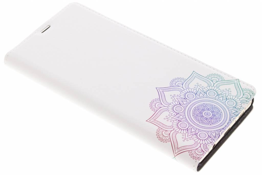 Multicolor Mandala Design Booklet voor de Samsung Galaxy Note 8