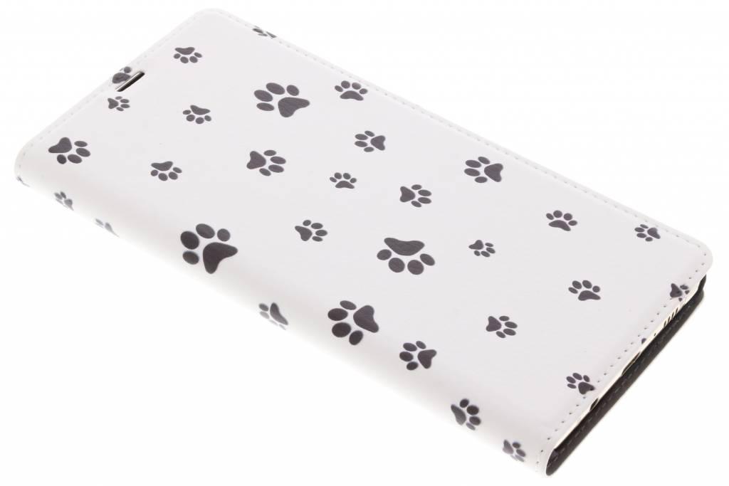 Dierenpootjes Design Booklet voor de Samsung Galaxy Note 8