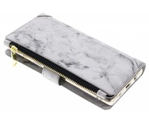 Marmer design luxe portemonnee hoes Samsung Galaxy Note 8