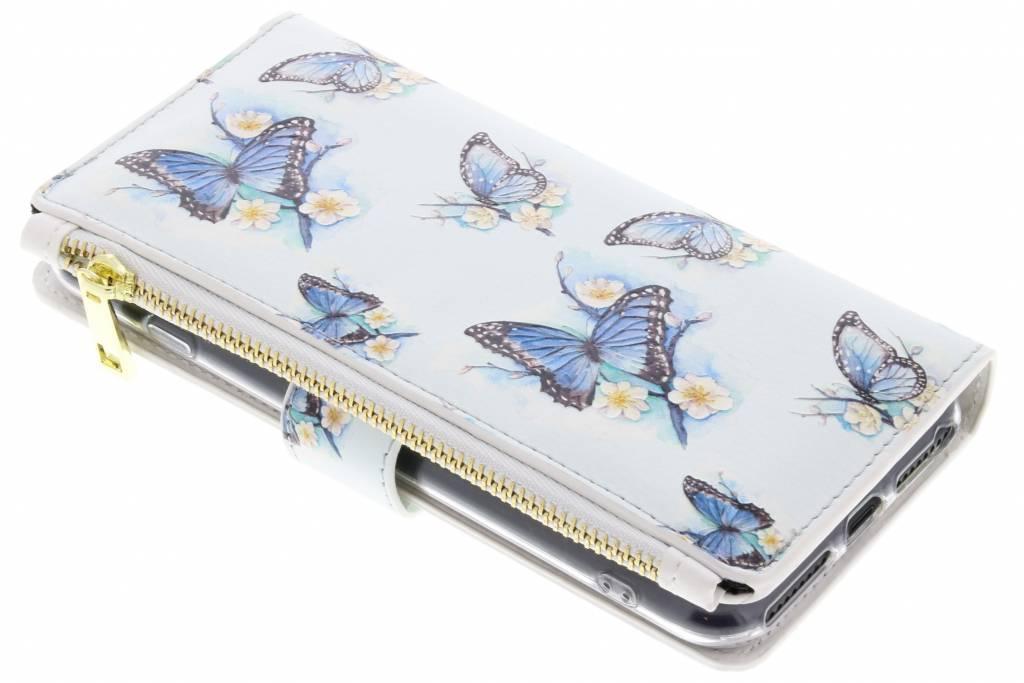 Vlinder design luxe portemonnee hoes voor de iPhone 8 Plus / iPhone 7 Plus
