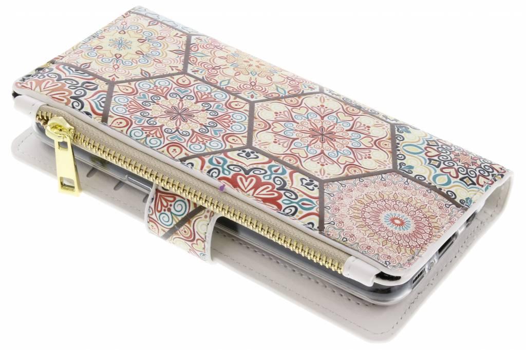 Festival design luxe portemonnee hoes voor de Samsung Galaxy S8