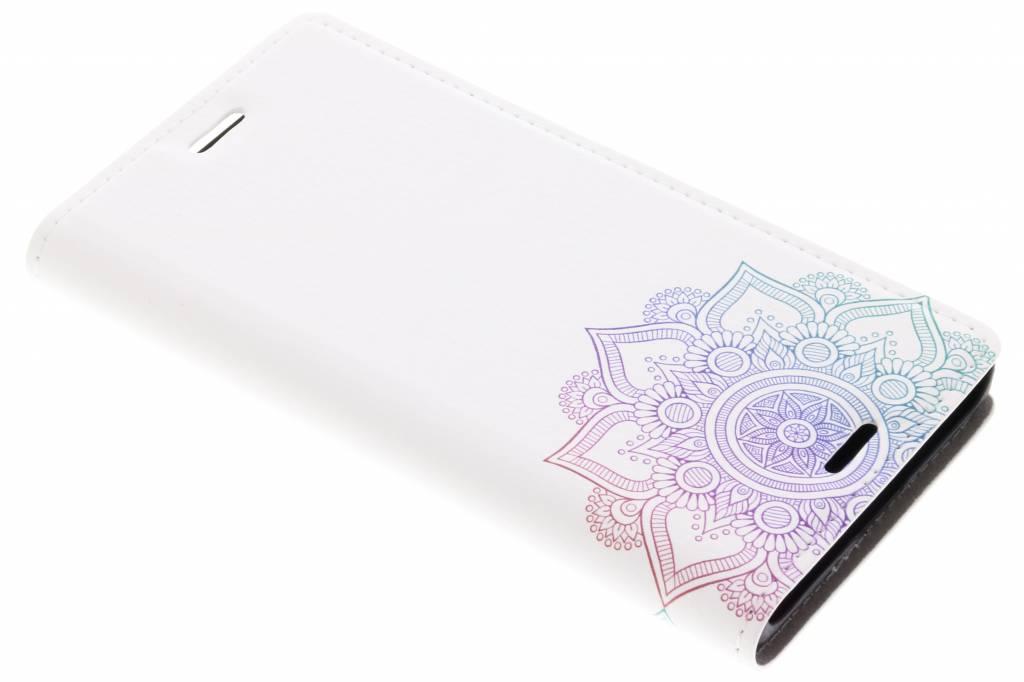 Multicolor Mandala Design Booklet voor de Sony Xperia XZ1 Compact