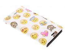 Emoji Design Booklet Sony Xperia XZ1 Compact
